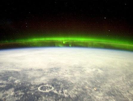 Ionosphere blasted by solar electrical ions